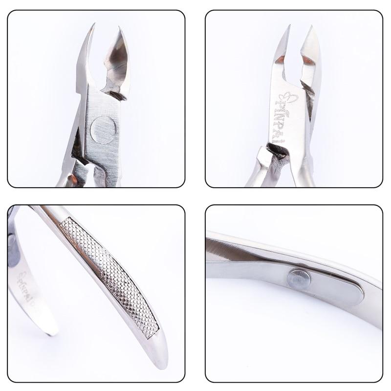 Profissionais de Aço Pinças Pinpai Inoxidável Nail Art