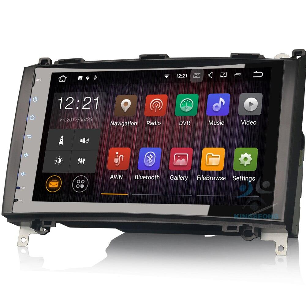 Android 7.1 Car GPS Navigation Autoradio DAB+ 3G WIFI OBD RDS For Mercedes Benz A Class W169 B Class W245 Sprinter Viano Vito