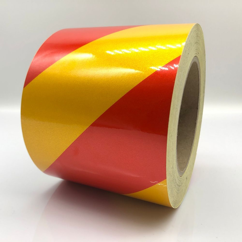 High Quality Self-Adhesive Reflective Sticker Warning Strip Decal Corrosion Resistance