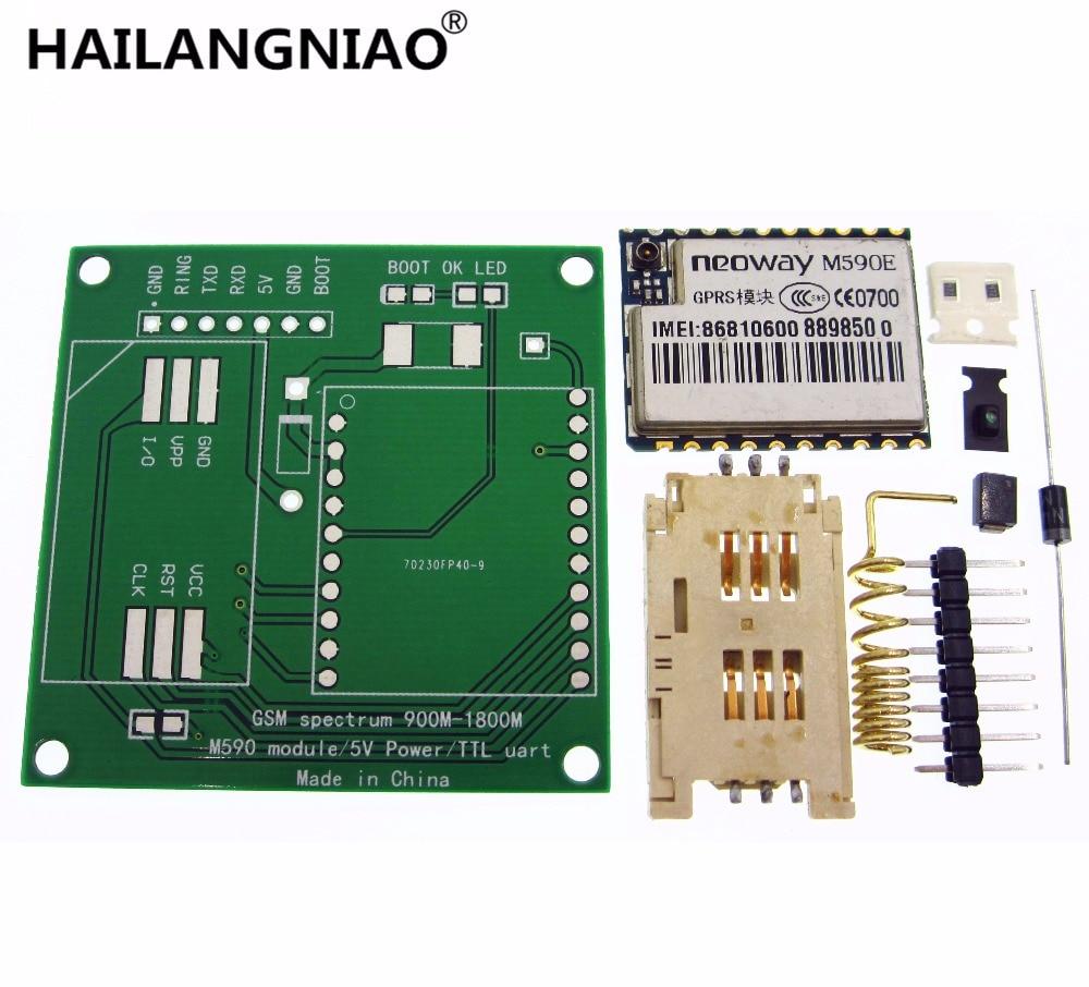 M590E GSM GPRS module Diy kits M590 GSM GPRS 900m-1800m sms CPU MCU test Second-hand m590e gsm gprs module 900m 1800m sms message diy kits m590 sms cpu mcu test