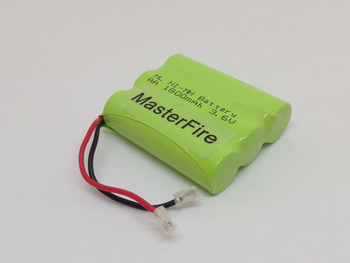 6pcs/lot New MasterFire Ni-MH AA 3.6V 1800mAh Ni MH Rechargeable Battery Cordless Phone Batteries Pack With Plugs