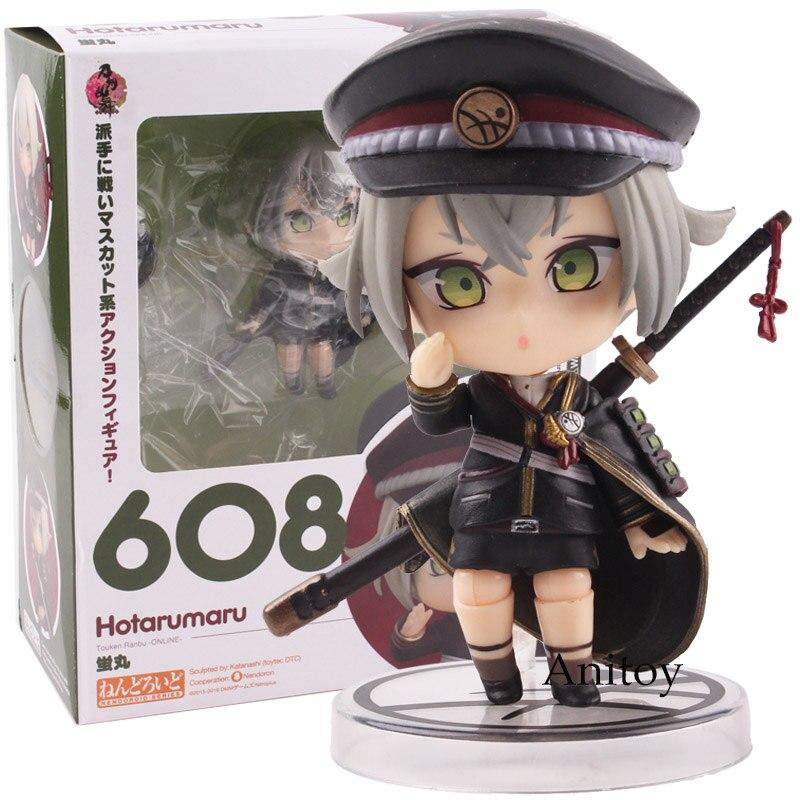 Anime Touken Ranbu En Ligne Nendoroid 608 Hotarumaru PVC Good Smile Nendoroid Action Figure Collection Modèle Jouet 9 cm