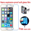 Nano Explosion-proof Soft Glass Clear Screen Protector Protective Lcd Film For Blackview ultra A6