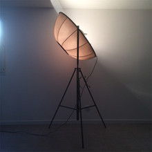 Modern Loft LED Photography Floor Lamps  Adjustable Classic Light Satellite Shape Photo Studio Living Room Stand Lamp