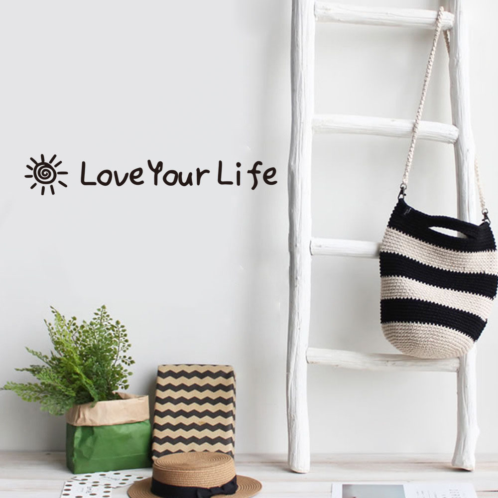 Dream home KWK203 selling English sentences carved wall stickers bedroom living room decoration The Wall stickers in Wall Stickers from Home Garden