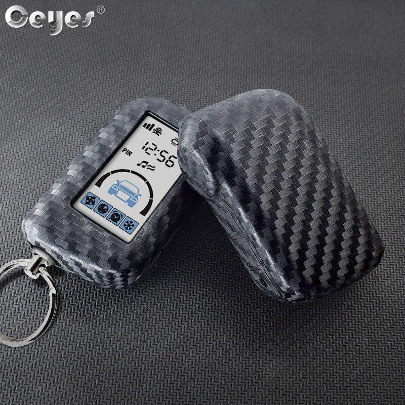 Accessoires de style de voiture Ceyes couvercle de clé télécommande coque de protection de clé pour émetteur Starline A93 A63 A39 A36 A66 A96