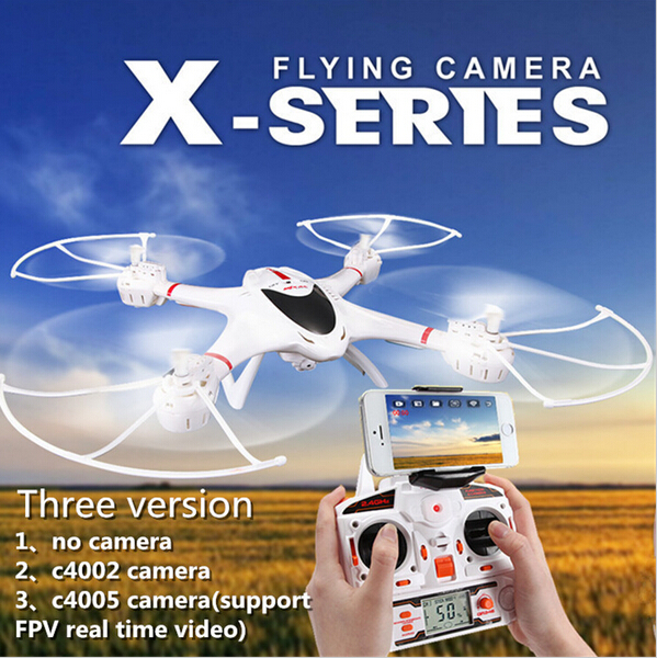 New Arrival 2.4G MJX X400 6-Axis Gyro 4CH RC Quadcopter RTF 2.4GHz  RC Helicopter 6-Axis GYRO Quadcopter Drone with Camera new arrival attop a5 2 4g 4ch 6 axis gyro rtf remote control quadcopter 180 360 degree flips aircraft drone toy 2016