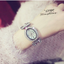 Best Selling Ladies Imported Quartz Movement Watch High-end Linked List Custom Full Diamond Female Watch Silver Rhinestone Watch все цены