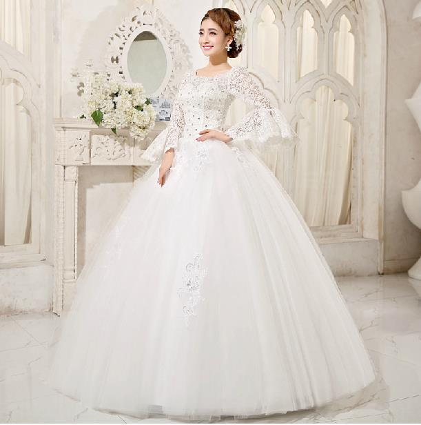 Fashionable Sweet Princess Lace Wedding dress 2014 vestidos de novia ...