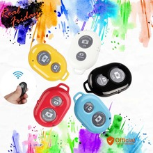 Wireless Bluetooth Remote Shutter Trigger Selfie Self-timer for iPhone 5 6 ios Samsung And