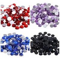 Nail 3D DIY Beads 10mm 12mm Art Nails Flatback Acrylic Rhinestones DIY Craft Backpack Garment Accessories