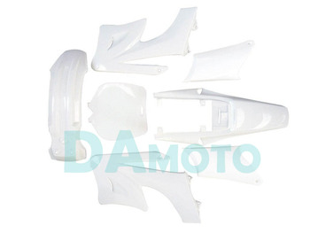 2-stroke for Apollo Orion Fairing plastic body kits fit pit dirt bike 49cc-100cc - Ivory