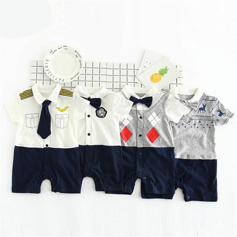 TONGMAO Brand Newborn Baby Boy Pajacyki dziecięce Gentleman ubrania - Odzież dla niemowląt - Zdjęcie 6