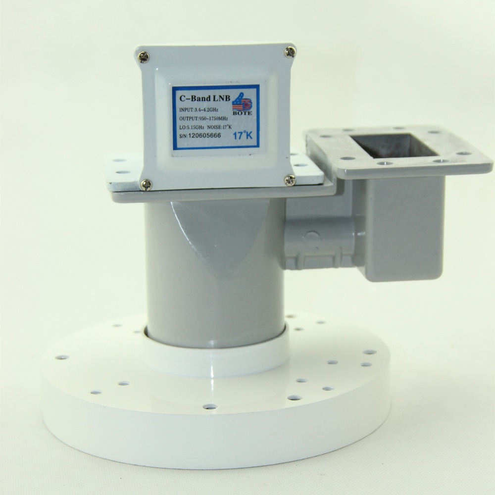 two pieces single polarity c band lnb and one dual polarity feedhorn in a set 5150mhz [ 1000 x 1000 Pixel ]