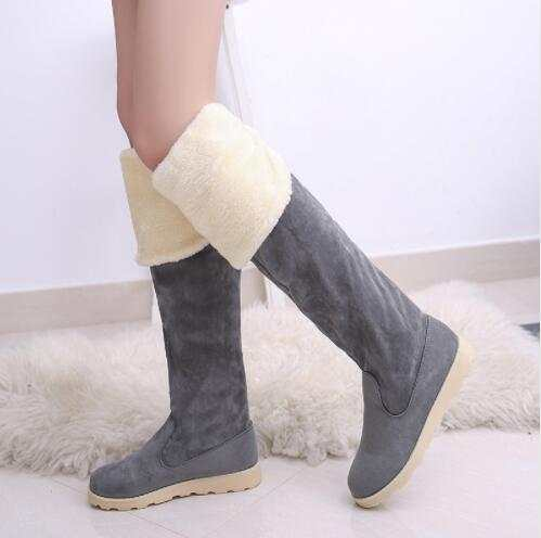 3afd9df66d0 IPCCM Winter Explosion Models Snow Boots Women Shoes Female In Tube Long  Boots Tenis Feminino Zapatos Mujer Size 34-43