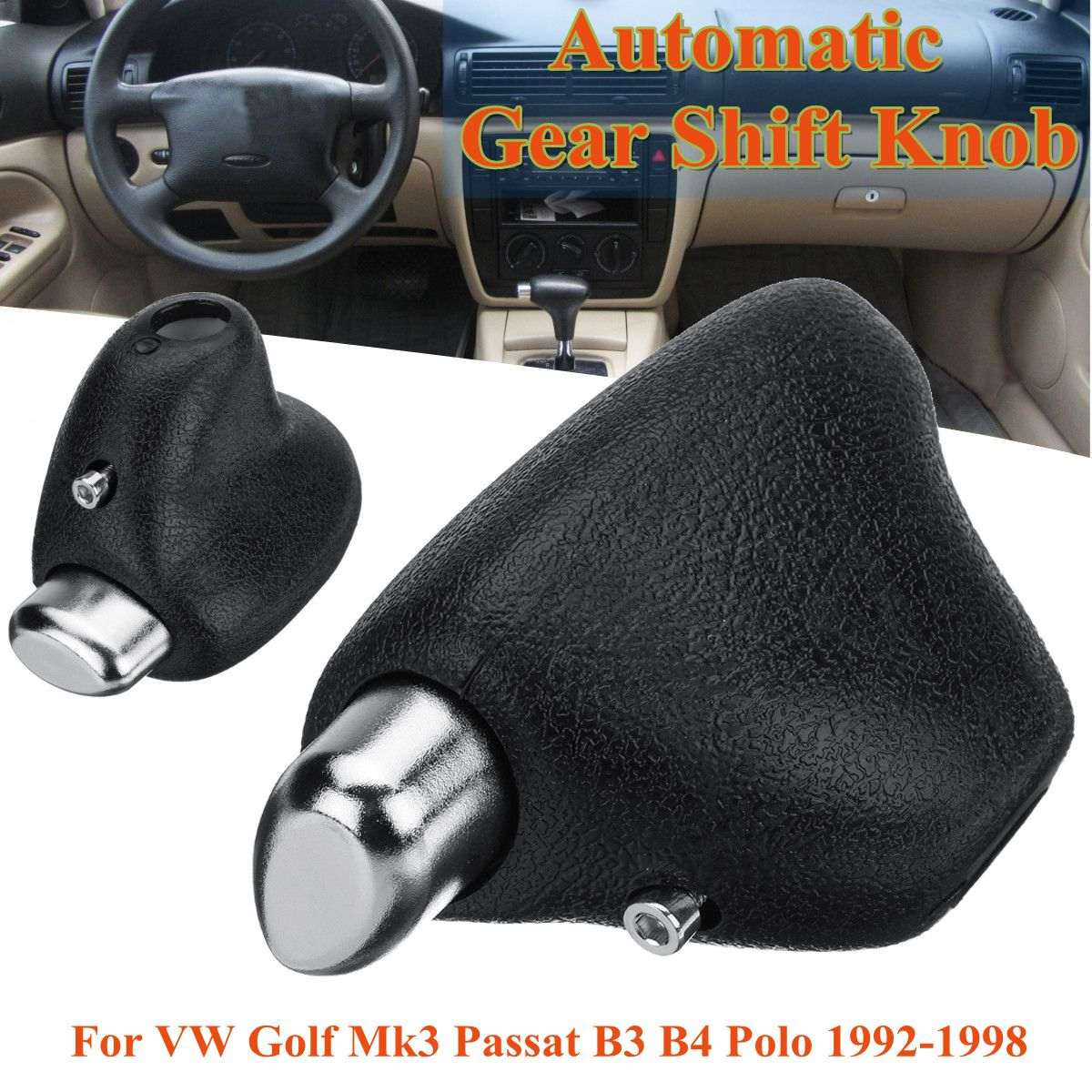 Car Automatic <font><b>Gear</b></font> Shift <font><b>Knob</b></font> 114721755 357713139A For <font><b>VW</b></font>/Volkswagen <font><b>Golf</b></font> <font><b>Mk3</b></font> Passat B3 B4 Polo 1992-1998 image
