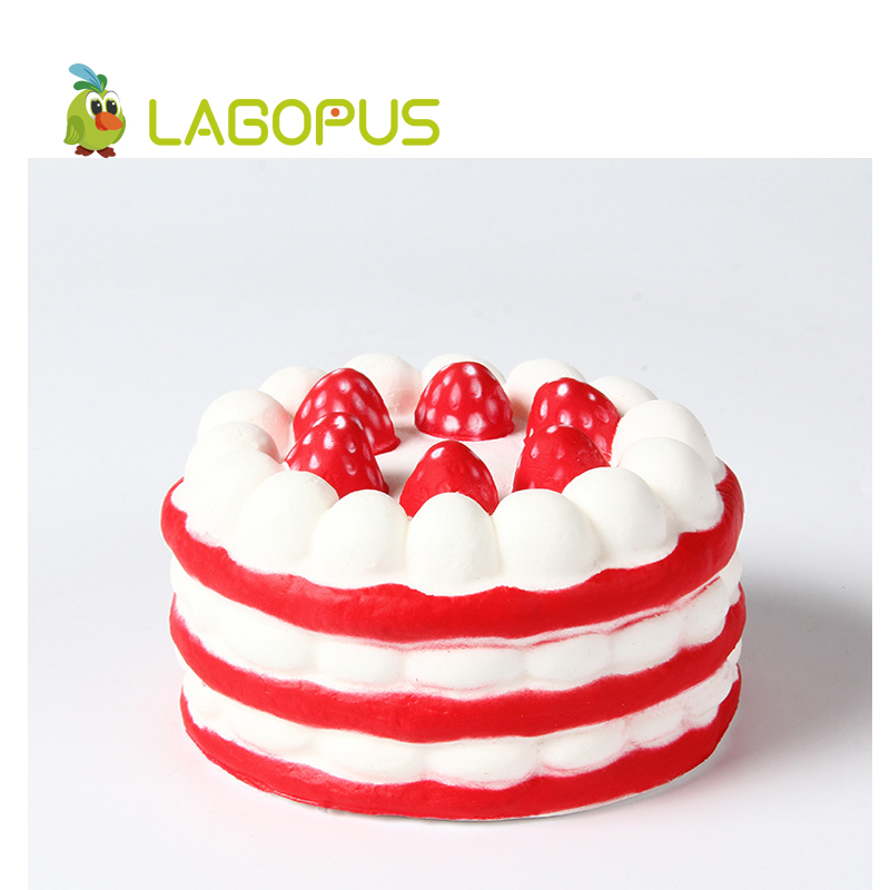 lagopus Squishy Mini Cake Kawaii Toys for Children Slow Rising Squeeze Soft Toys for Kids Lovely Cake Stress Relief