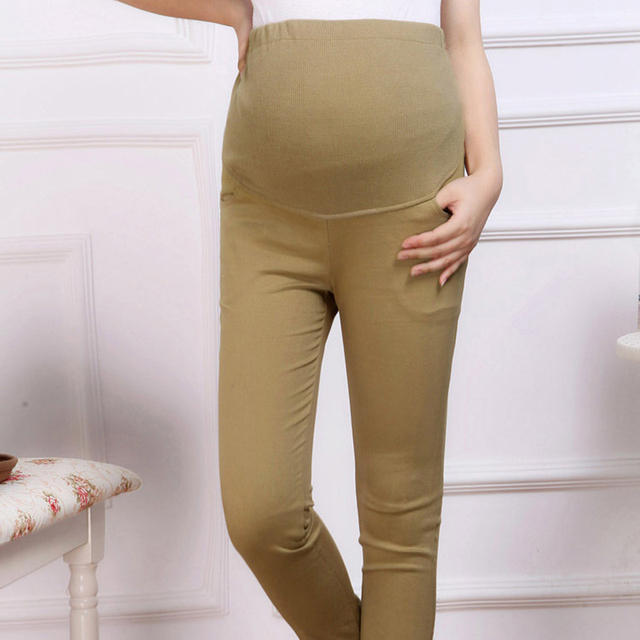 Pants for pregnant women Maternity wear pregnancy pants Capri for pregnant women Adjustable Elastic Waist Pregnancy 1-10 months