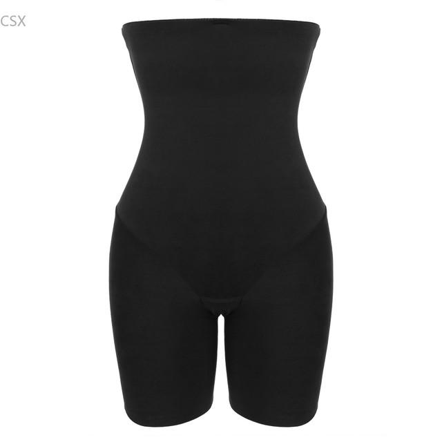 Mujeres Body Ropa Interior Modeladora Faja Corsé de Cintura Alta de Control Tummy Muslos Más Delgados de Alta elasticidad u2