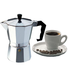 Italian Espresso Coffee Makers Top Moka Cafeteira Expresso Percolator Pot 3cup/6cup/9cup/12cup Turkish Stovetop Coffee Maker