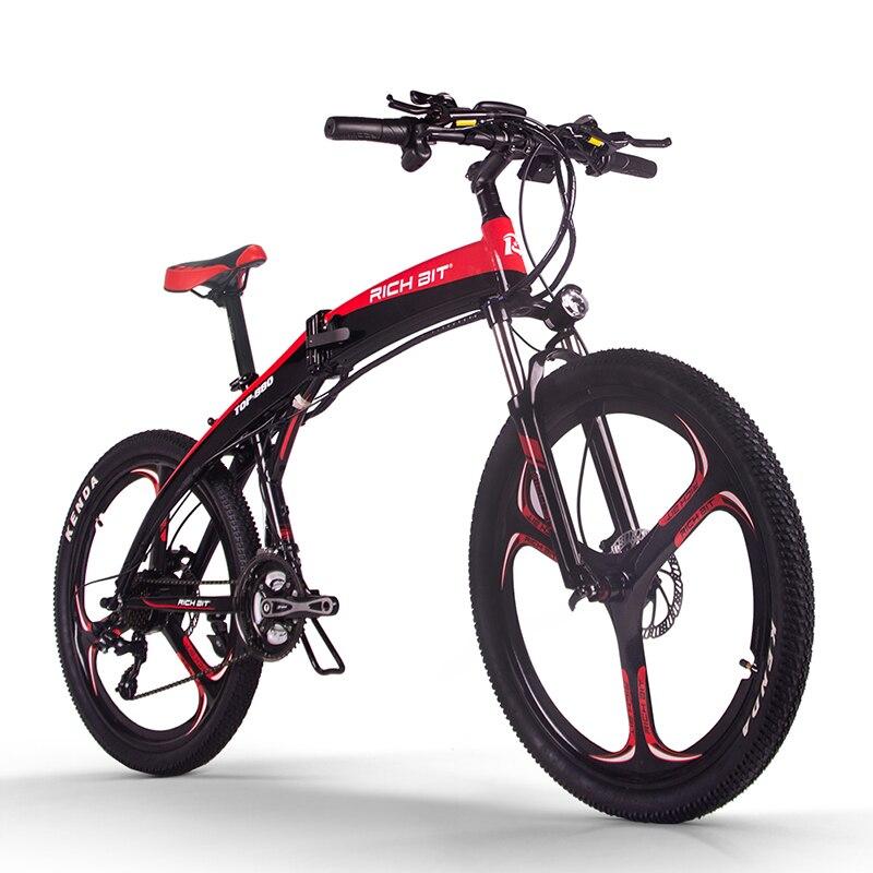 RichBit Neue RT-880 36V * 250W Klapp ebike Berg Elektrisches Fahrrad Europäischen Schnell Delivey Innen Li-auf 9.6Ah Batterie ebike