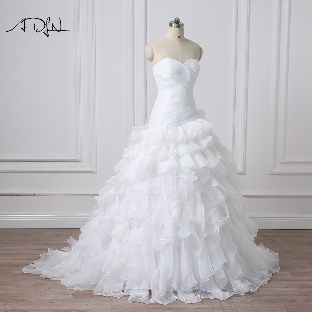 Noua Design vestidos de novia A-line Sheer Neckline imbracate cu - Rochii de mireasa - Fotografie 3