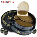 MEIKING Eyes Masks Skin Care 60PCS Black Pearl Gel Mask Collagen Crystal Eye Mask patch,Dark circle,Eyelid Anti-Wrinkle,Moisture
