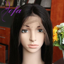 130% Density Brazilian Hair Straight Full Lace Wigs / Lace Front Wig Light Yaki Full Lace Human Hair Wigs For Black Women
