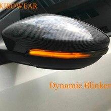 Пара светодиодный светильник динамического указателя поворота для Volkswagen Jetta MK6 евро GLi Passat CC B7 Beetle Scirocco Mirror 2013