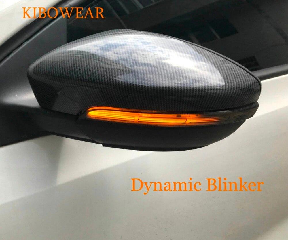 VWパサートCC B7ビートルシロッコジェッタMK6ユーロバックミラーインジケーター用ペアLEDサイドウイングダイナミックターンシグナルライトУказательповорота