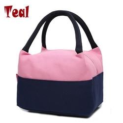 2019 новая двойная Герметичная сумка, женские контейнеры для обедов, сумка для ручной переноски, женская сумка из ткани Оксфорд, сумка из непр...