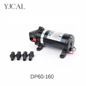 DC 12V 24V Water Booster Fountain High Pressure Diaphragm Pump Reciprocating Self-priming RV Yacht Aquario Filter Accessories fl 30 12v 24v dc electric diaphragm pump high pressure rv yacht family water pump self priming solar booster water bilge pump