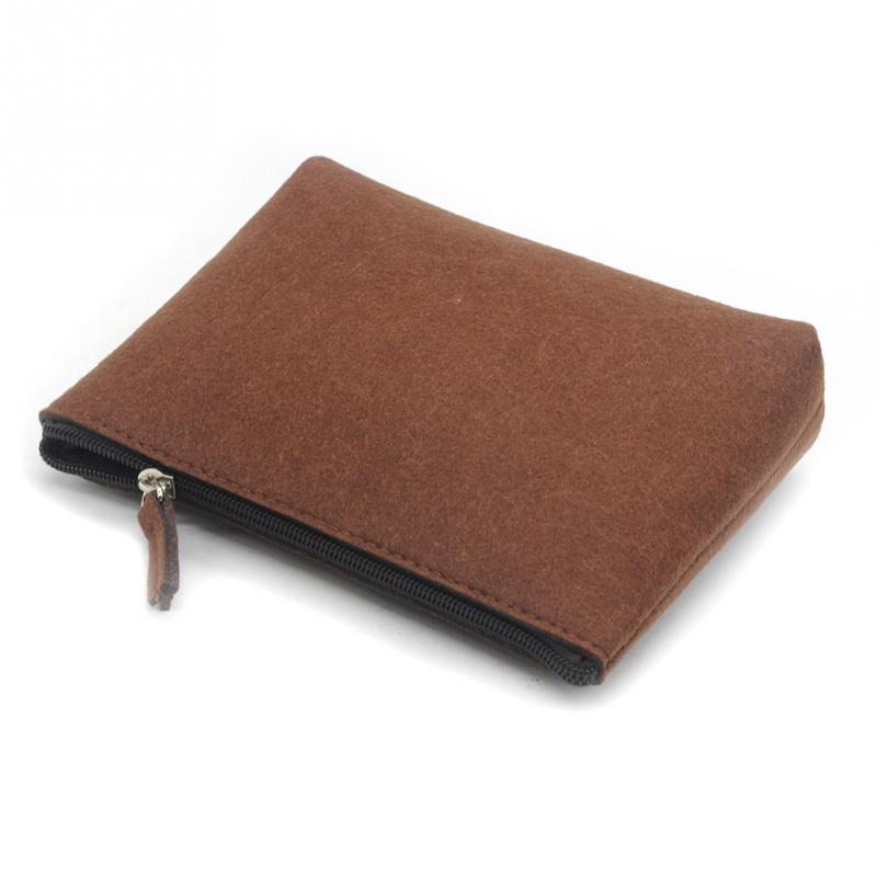 1pcs Universal Carrying Case Small Gadget Bag Small Money Wallet Women Men Travel Pouch Cable Power Bank Hard Disk Bag Felt Bags цена 2017