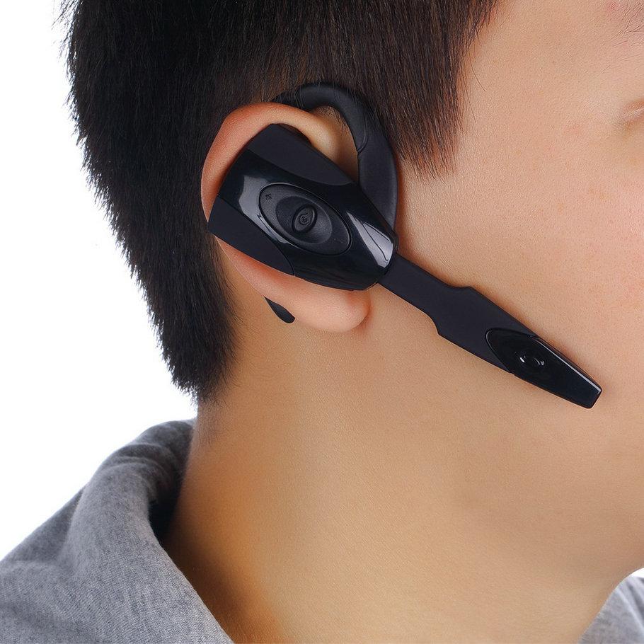 все цены на  New Bluetooth Headphone headset Wireless Stereo Microphone For Sony PS3 Samsung iPhone HTC PC with USB charge line Hot 2016  онлайн