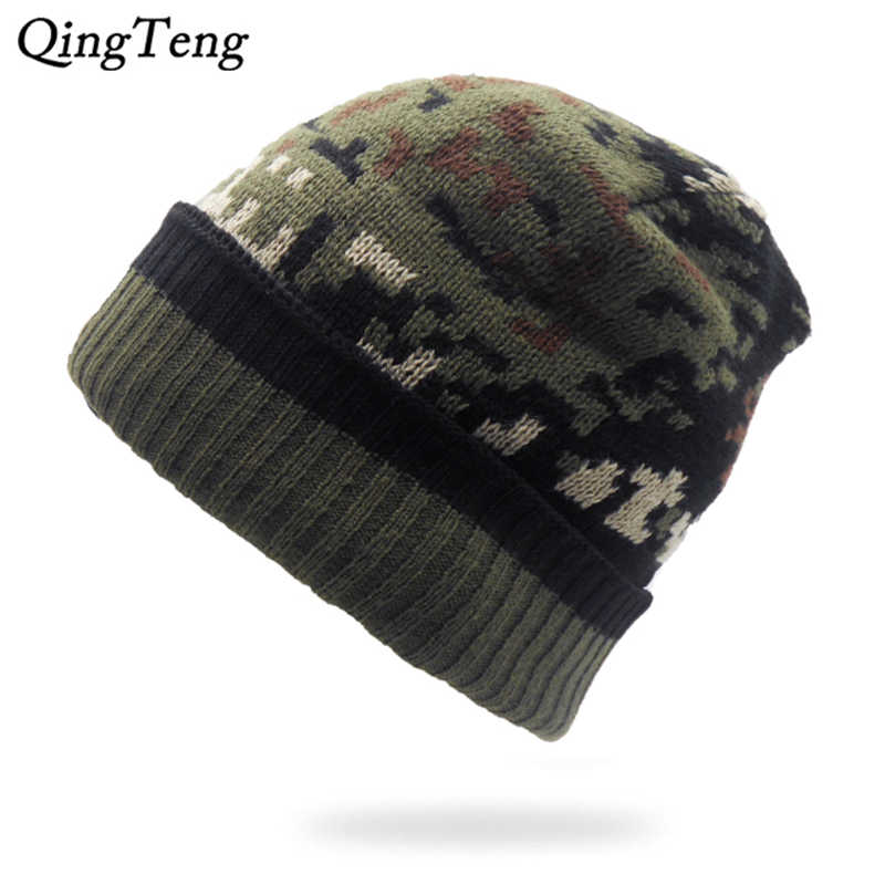 895361bb3 Detail Feedback Questions about Winter Warm Camouflage Hats For Men ...