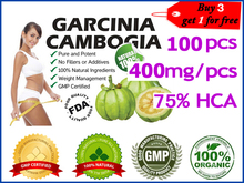 100 pcs for 30 days supply 100 effective fat burners pure Garcinia Cambogia extracts weight loss
