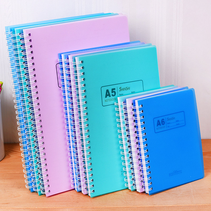 New 1Pcs A7 A6 A5 B5 Notebook Filler Papers office & school supplies stationery note pad 90 pages High Quality Diary Note book
