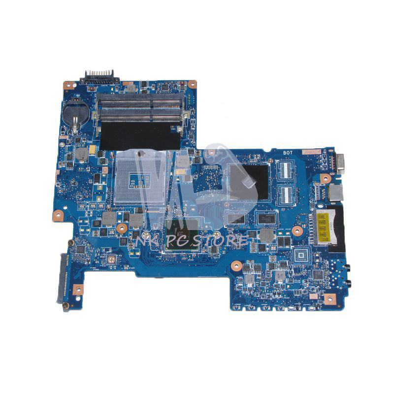 NOKOTION H000033490 MAIN BOARD For Toshiba Satellite C670 C670-17D Laptop Motherboard 08N1-0NA1Q00 HM65 DDR3 GT315M GPU nokotion for toshiba satellite laptop motherboard c600 v000238100 6050a2448001 mb a01 hm65 gt315m ddr3