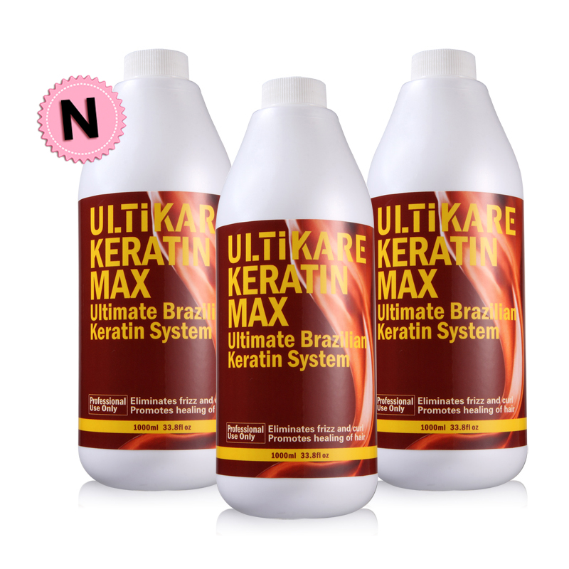 3pcs a Lot Cheapest Brazilian Keratin Treatment DIY At Home 5% Keratin Hair Treatment Straightening + Free Mini Puriying Shampoo cheapest diy set at home mini hair keratin treatment repair straighten hair flat iron comb free shipping