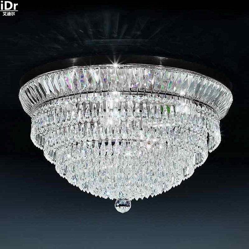Gold Deckenleuchte Schlafzimmer Moderne Wohnzimmer Lampe Kristall Continental 61 Cm W X 30