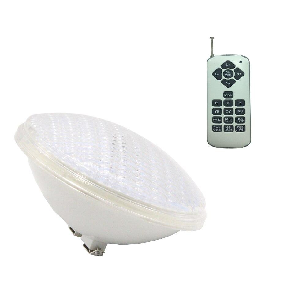 PAR 56 Headlight 18W 36W 54W Underwater Light LED Swimming Pool Lights 12V Plastic Multiple Warm White Cold White