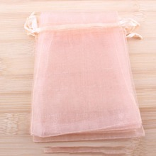Pouches Bracelet Organza-Bags Packaging-Display Wholesale Jewelry Christmas-Gift 50PCS