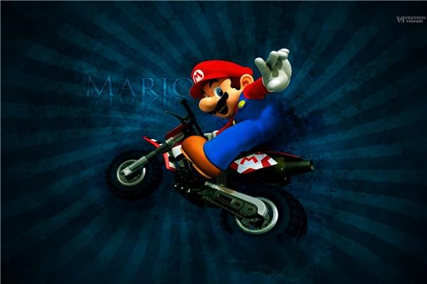 super mario motorrad