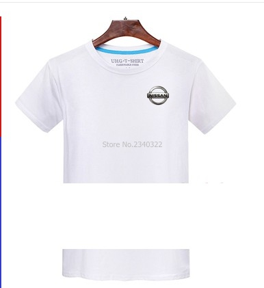 Zomer Productie Nissan Logo Auto Logo T Shirt 4 S Winkel Werkkleding
