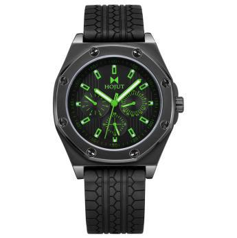 HOJUT A55 mens analog with calendar business leisure wristwatch