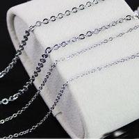 Wholesale Sale 100pcs Lot 16 40 Length 316L Stainless Steel Necklace 1 5 2 2 4