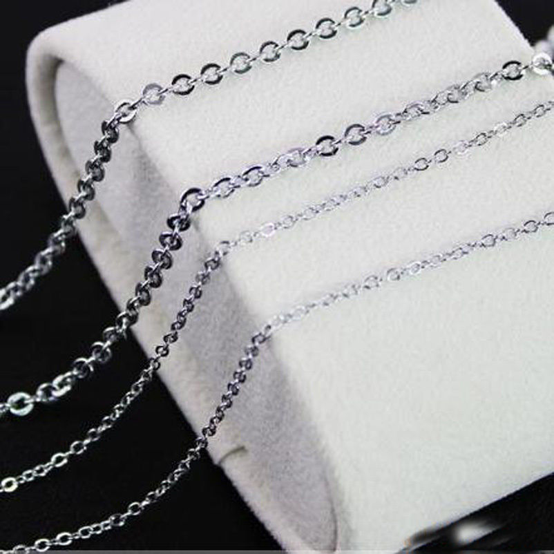 "28/"" Snake Chaînes Colliers Wholesale 2.4-3.2mm 20/"" Acier Inoxydable"