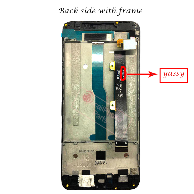 Image 4 - With frame For ZTE Blade A610 LCD Display Touch Screen HD Digitizer Assembly For ZTE Blade A610/A241 Version 318 Version Lcd-in Mobile Phone LCD Screens from Cellphones & Telecommunications
