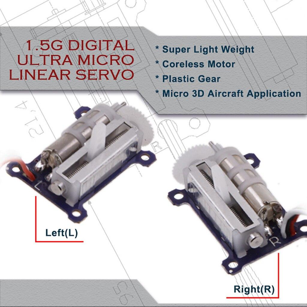 AGF 1,5g Ultra Micro Kunststoff Getriebe Digitale Kernlosen Liner Servo Für RC Flugzeug Spielzeug Drone Zubehör RC Teile
