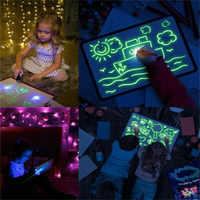 Fluorescent Luminescent Board Toys Drawn With Light Fun And Developed Toys And Development Toys Big Bag Children's Gifts
